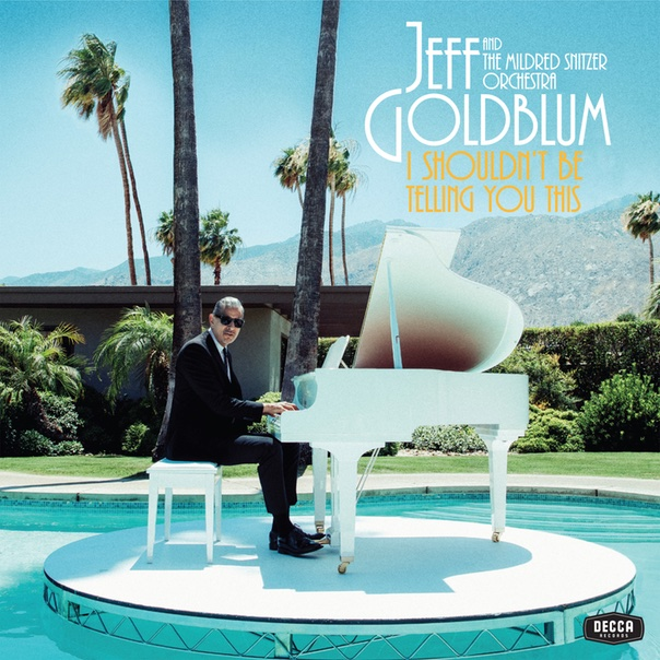 Jeff Goldblum, Jeff Goldblum & The Mildred Snitzer Orchestra, I shouldn't be telling you this