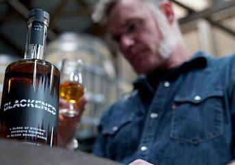 Rock'N Vino: Distiller Rob Dietrich plays metal for Metallica's Blackened Whiskey barrels