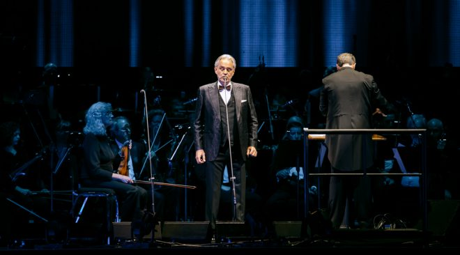 Andrea Bocelli makes San Francisco debut with SF Symphony at Chase Center
