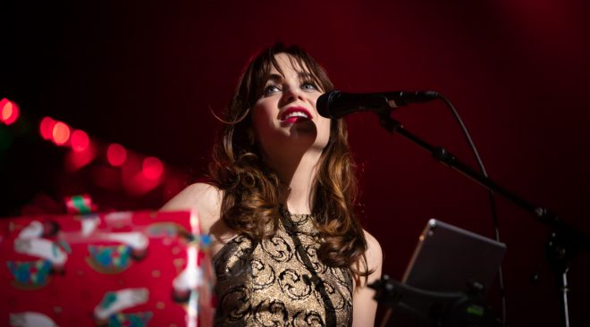 REVIEW: She & Him unwrap a set of Christmas covers at the Fox