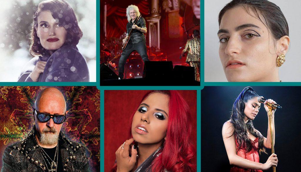 Idina Menzel, Queen, Mattiel, Shenna, Rob Halford, Judas Priest