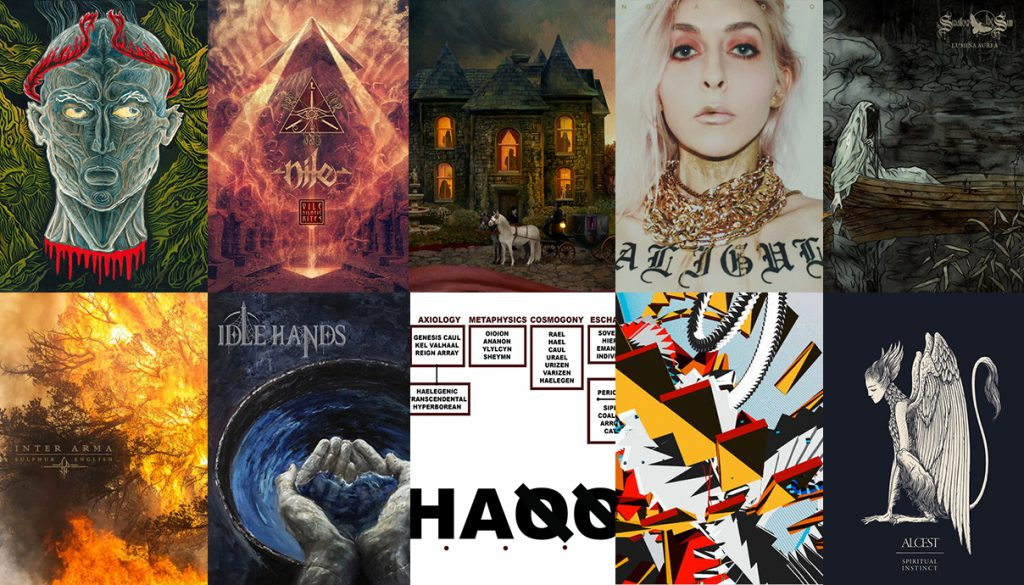 L'Acéphale, Nile, Opeth, Lingua Ignota, Swallow The Sun, Car Bomb, Liturgy, Idle Hands, Inter Arma