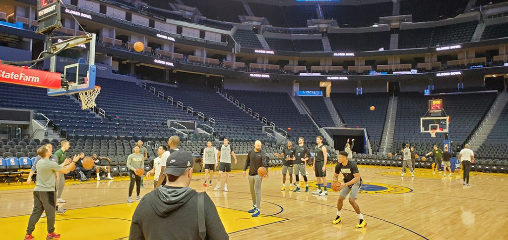 Golden State Warriors, Chase Center, Milwaukee Bucks, Giannis Antetokounmpo