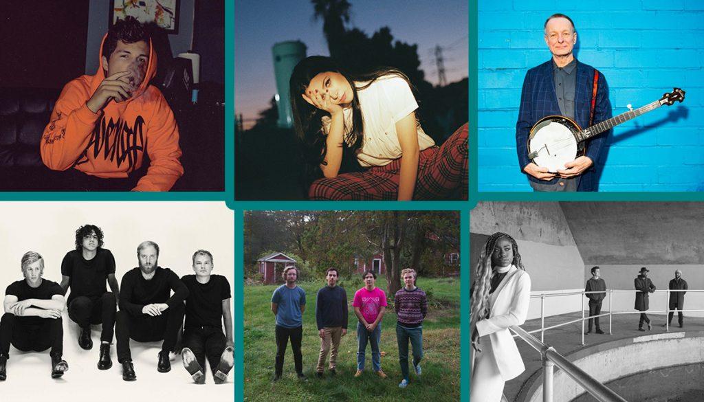 Josh Lambert, Luna Shadows, Danny Barnes, The Seshen, Pinegrove, Social Animals