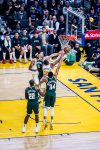 Golden State Warriors, Chase Center, Milwaukee Bucks, Brook Lopez