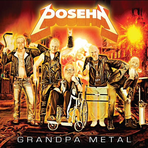 Brian Posehn, Grandpa Metal