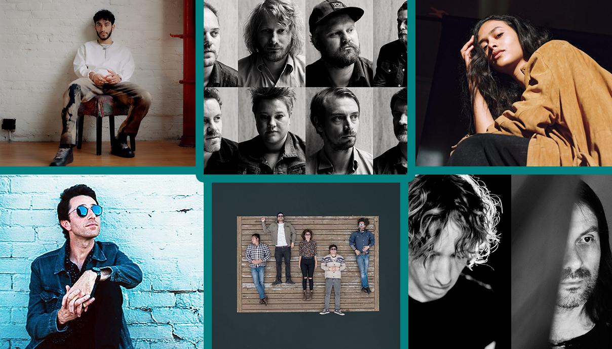 Riz La Vie, Jaga Jazzist, Marem Ladson, Daniel Avery, Alessandro Cortini, Shred Kelly, Adam Brookes, Dangermaker