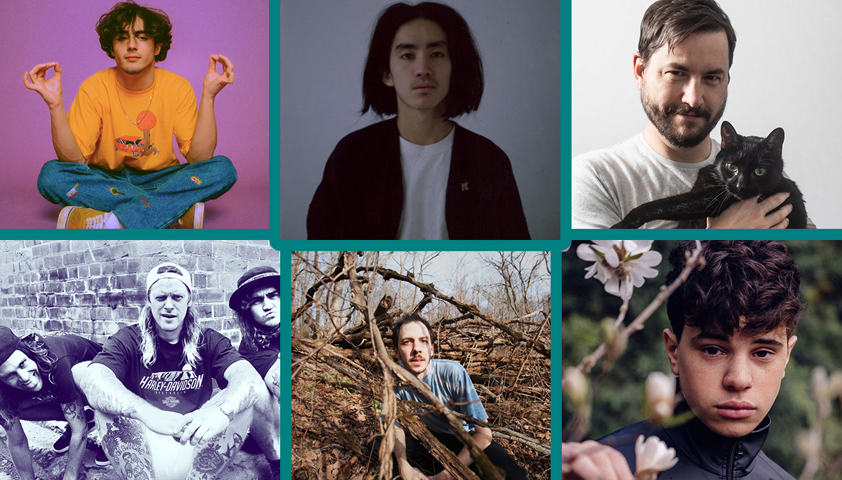 Alfie Templeman, Jonah Yano, The Soft Pink Truth, Christian Lalama, Trace Mountains, Dune Rats