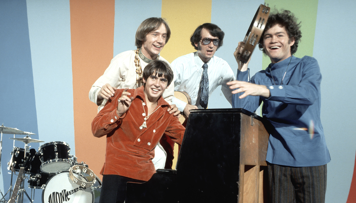The Monkees, Mike Nesmith, Micky Dolenz, Davy Jones, Peter Tork