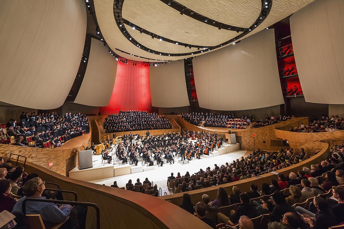 Stanford University, Bing Concert Hall, Stanford Live