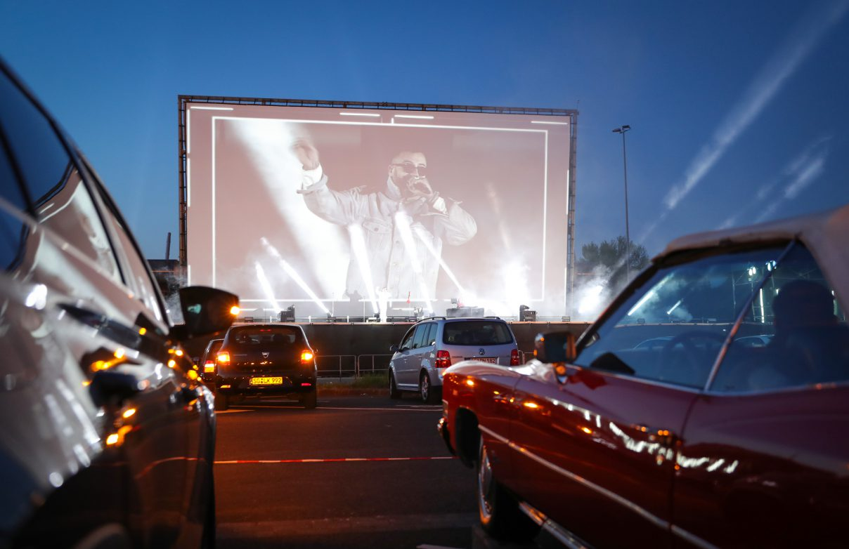 drive-in concerts, coronavirus, COVID-19