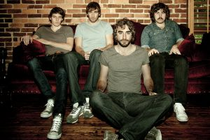 The Coronas, Danny O'Reilly, Dave McPhillips, Graham Knox, Conor Egan