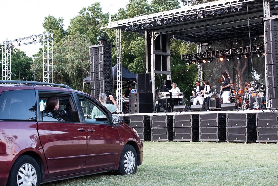 Drive-In Concert, Alameda County Fair