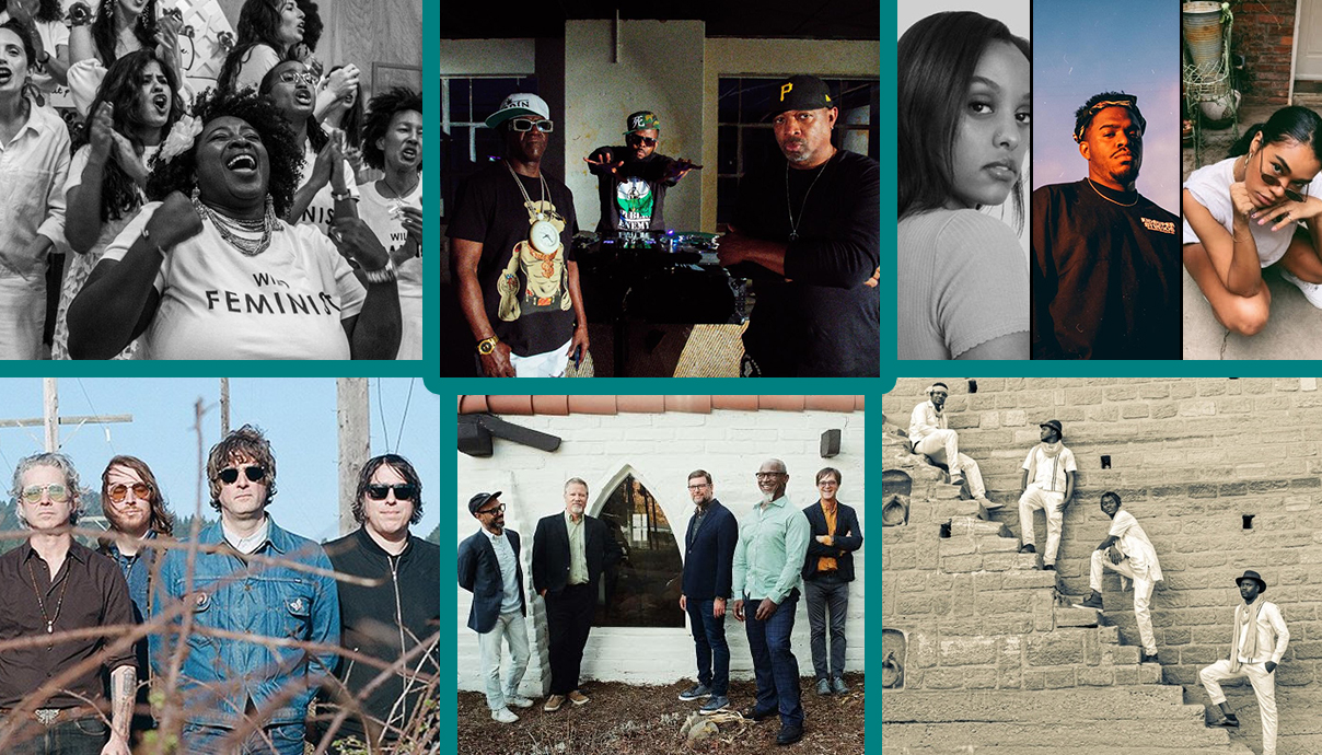 Resistance Revival Chorus, Public Enemy, Ruth B, theMIND, Amber Mark, Songhoy Blues, Greyboy Allstars, The Asteroid No. 4