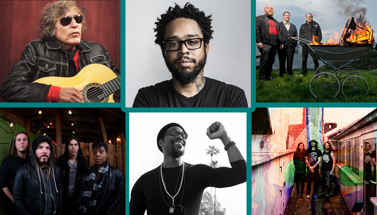 José Feliciano, Jose Feliciano, Terrace Martin, Gaytheist, All Them Witches, Cory Henry & The Funk Apostles, Silvertung
