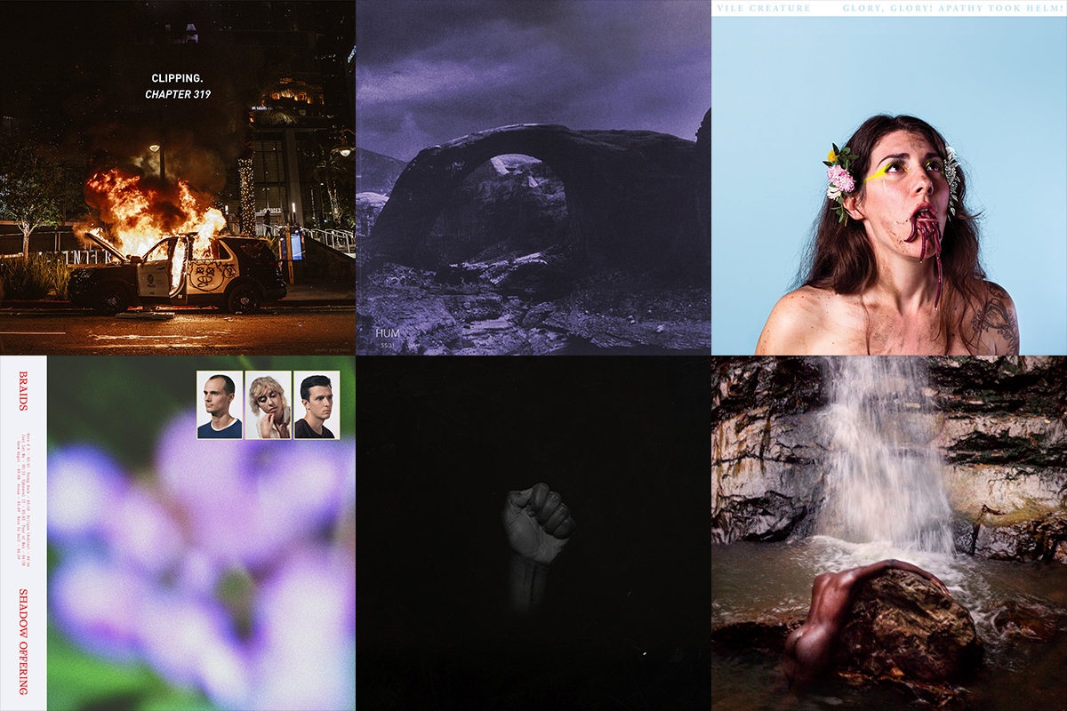 Bandcamp Friday, clipping., Hum, Vile Creature, Moses Sumney, SAULT, Braids