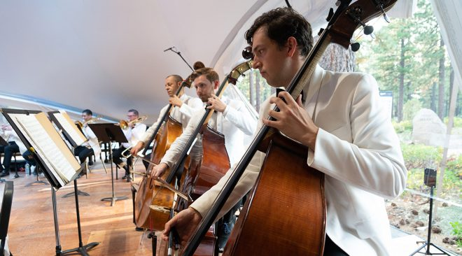 Classical Tahoe fest adapts to chamber format, with audience, following maestro's death to COVID-19