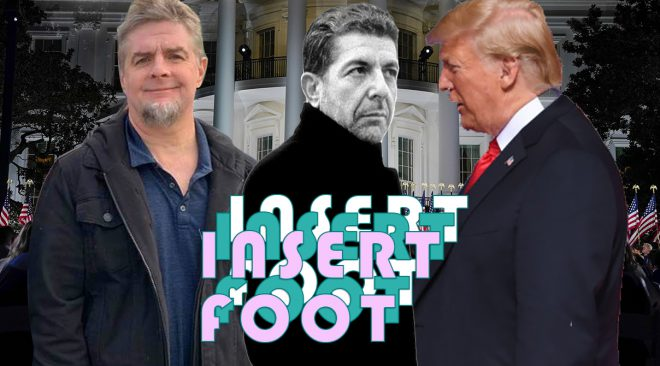 Insert Foot: President Trump and the art of not getting art, or irony