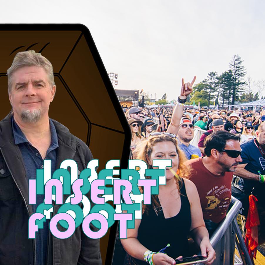 Insert Foot, Tony Hicks, COVID-19, coronavirus, drive-in concerts