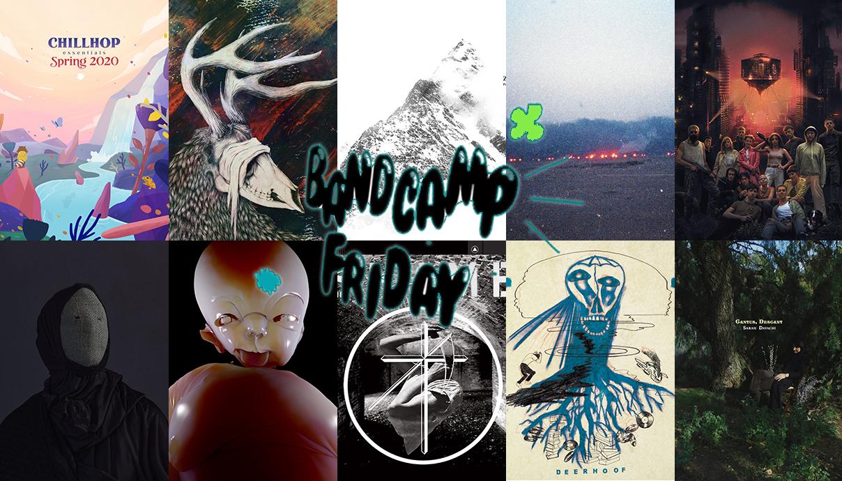 Chillhop, Svalbard, Zao, Vatican Shadow, Crack Cloud, Sarah Davachi, Deerhoof, Uniform, Arca, ERR & Thou