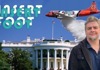 Insert Foot: Rick Moranis, jet packs and infected Washington, D.C.