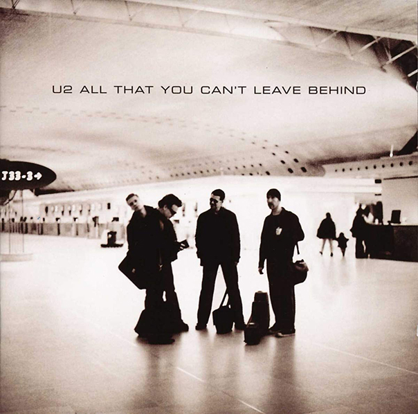 U2, All That You Can't Leave Behind, Bono, The Edge, Larry Mullen, Jr., Adam Clayton
