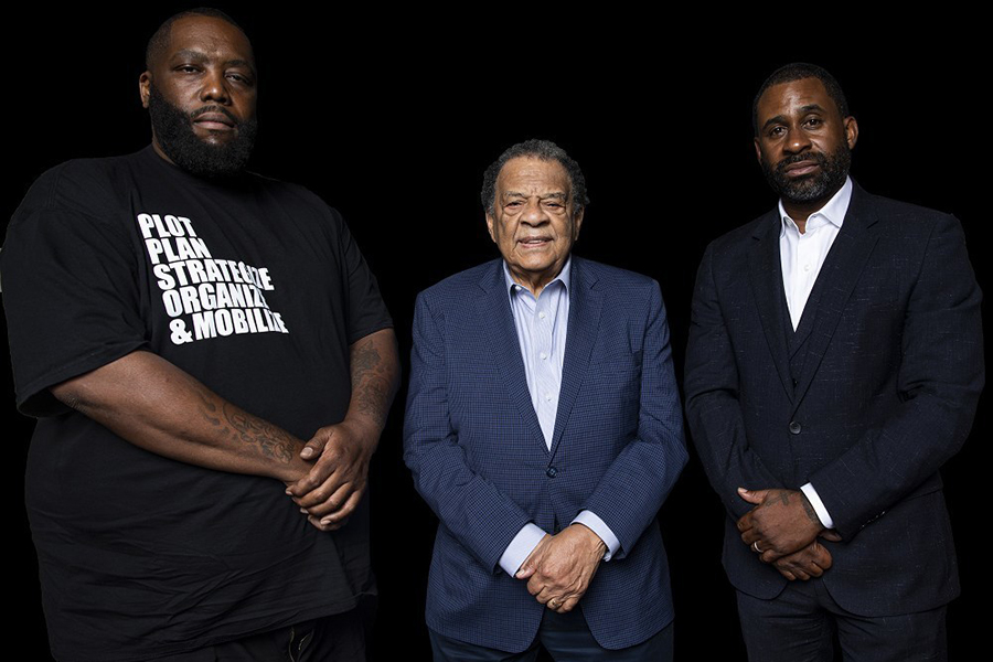 Killer Mike, Andrew Young, Ryan Glover, Bounce TV,
