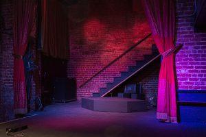 The Golden Bull, Oakland, Golden Bull Oakland, empty stage