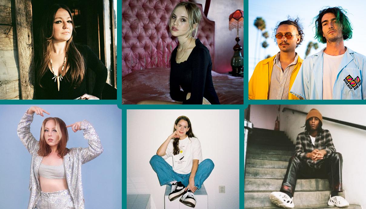 Kelsey Waldon, Kristiane, Teenage Wrist, Bakar, Anna of the North, Kit Major