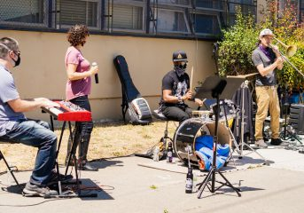 Oakland's Living Jazz to stage live music for people in need at West Oakland Food Pantry