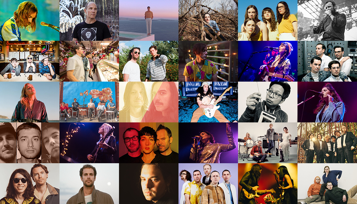 Tame Impala, Caribou, Washed Out, Trace Mountains, The Big Moon, Future Islands, Strfkr, Surfer Blood, Surf Rock Is Dead, Of Montreal, Hazel English, Suburban Living, Jack River, Rolling Blackouts Coastal Fever, Secret Machines, Pink Skies, Tomo Nakayama, Best Coast, Smith Lyle & Moore, Phoebe Bridgers, Ultraísta, Jessie Ware, Yumi Zouma, The Nude Party, Acid Tongue, Jay Watson, Will Butler, Hot Chip, Khruangbin