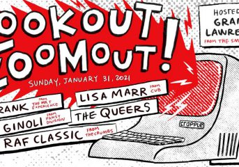 Lookout! Zoomout will reunite Lookout! Records artists online