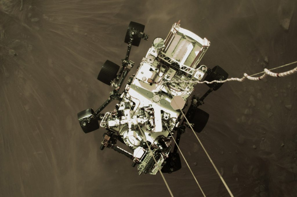 Mars rover, Perseverance