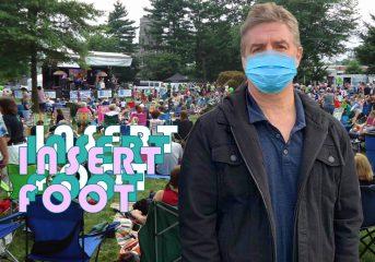 Insert Foot: What's that sound? Music (but coronavirus is still goin' round)
