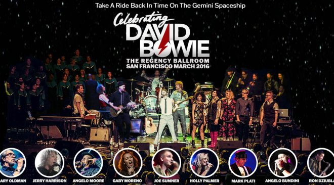 2016 'Celebrating David Bowie' show to be streamed for animal welfare benefit