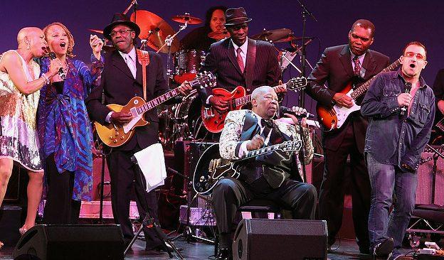 B.B. King, Herbie Hancock, Bono perform in all-star Thelonious Monk show