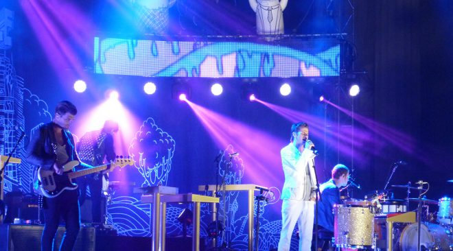 Foster the People bring pumped-up beats, Mayer Hawthorne, Kimbra to the Greek