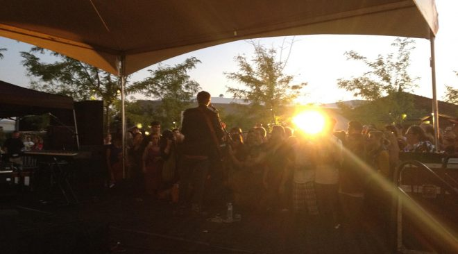 Review: The Mountain Goats, The Dodos at Front Porch Music Festival