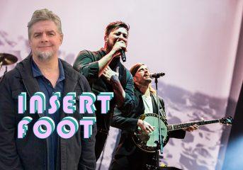 Insert Foot: Mumford & Sons' Winston Marshall really inserted his foot last week