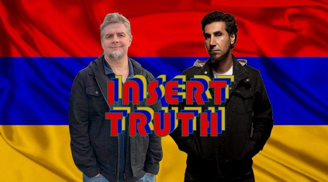 Insert Foot: Serj Tankian thanks President Biden for acknowledging truth
