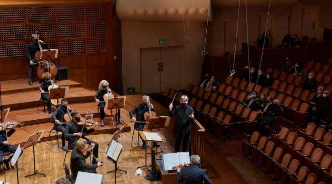 "San Francisco Symphony returns to Davies for ""emotional"" first shows in 14 months"