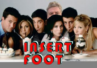 Insert Foot: How 'Friends' and its Top 5 lists endures is beyond reason