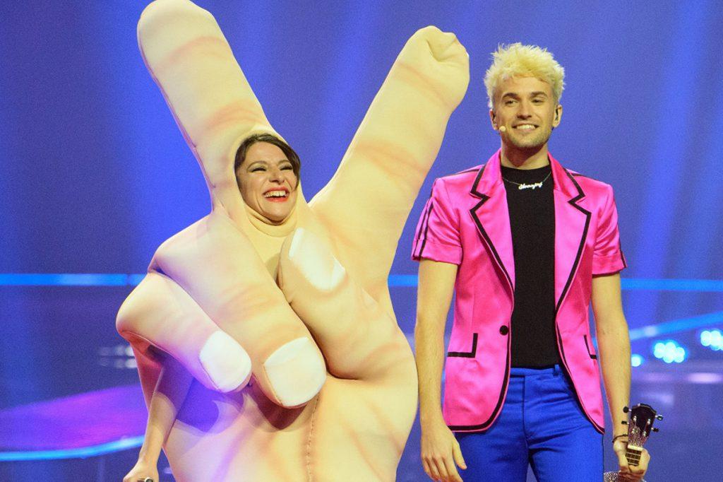 Jendrik, Eurovision 2021
