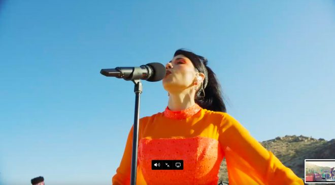 REVIEW: Marina takes to the desert for 'Ancient Dreams' stream