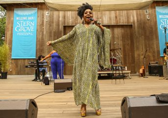 REVIEW, VIDEOS: Ledisi brings Stern Grove Festival back to life