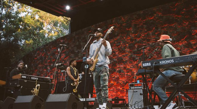PHOTOS: Robert Glasper and friends join the Dinner Party at Frost Amphitheater