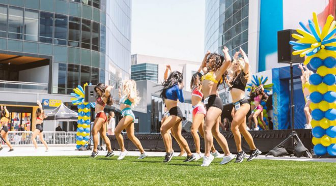Golden State Warriors dance squads back in action