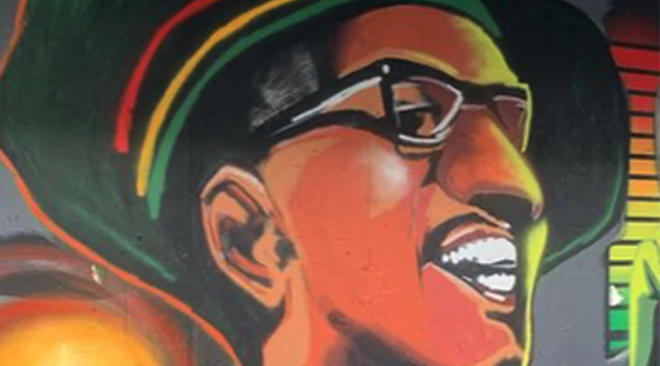 Oakland honors Shock G with food drive, procession and performances