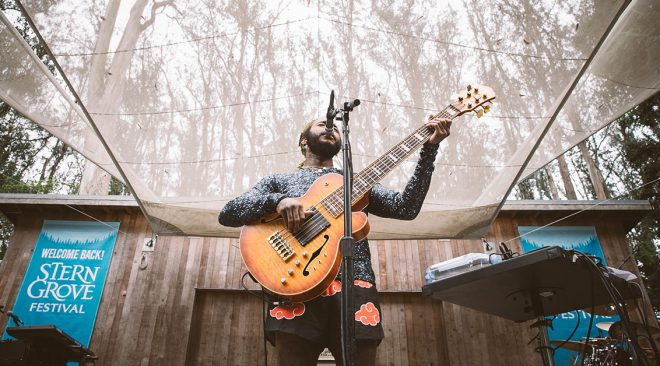 REVIEW: Thundercat revels in thick jazz jams at Stern Grove Festival