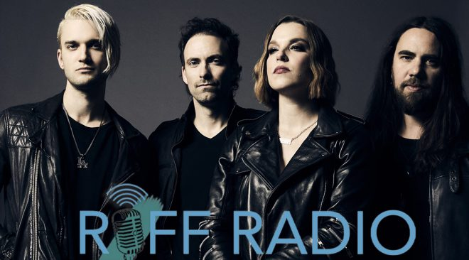RIFF RADIO: Halestorm roars 'Back From the Dead' on new LP